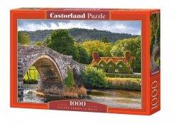 Puzzle 1000 elementów Village corner in Wales