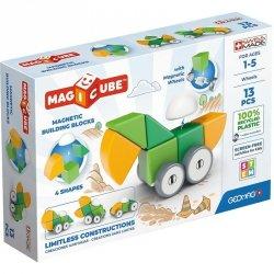 Klocki magnetyczne Magicube 4 Shapes Recycled Koła 13 elementów
