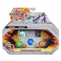 Zestaw figurek Bakugan Geogan Rising Seria 3 Pack 4