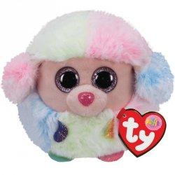 Maskotka TY Puffies Pudel - Rainbow