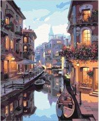 Obraz Paint it! Malowanie po numerach. Kanał w Wenecji