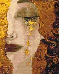 Obraz Paint it! Malowanie po numerach. Złote łzy Klimt