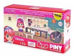 Zestaw figurek PinyPon CITY Pokoik z  laleczką i akcesoriami. Pokój Michelle