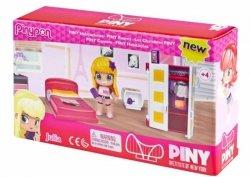 Zestaw figurek PinyPon CITY Pokoik z  laleczką i akcesoriami. Pokój Julii