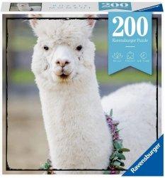 Puzzle 200 elementów Momenty, Alpaka