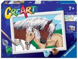Malowanka CreArt dla dzieci Koniki
