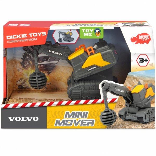 DICKIE Construction Mini Mover Pojazd Wyburzający Volvo 13 cm