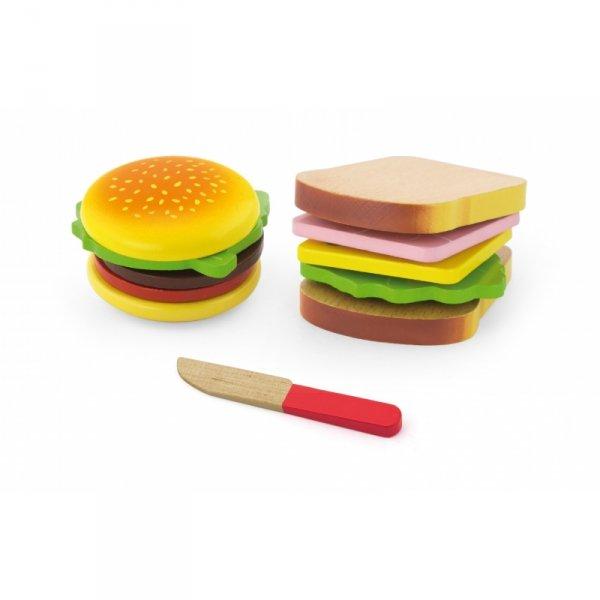 Viga Zestaw Do Krojenia Hamburger i Kanapka