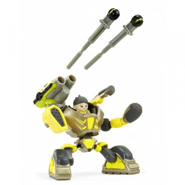 Ready2Robot Zestaw bitewny Tag Team niespodzianka w kuli z akcesoriami