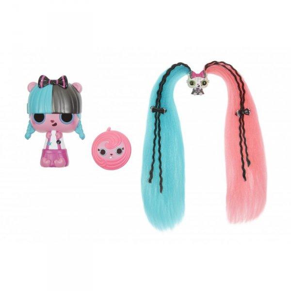 Pop Pop Hair Surprise - Zestaw z laleczką i pupilkiem 3w1 - Funky - Seria 1