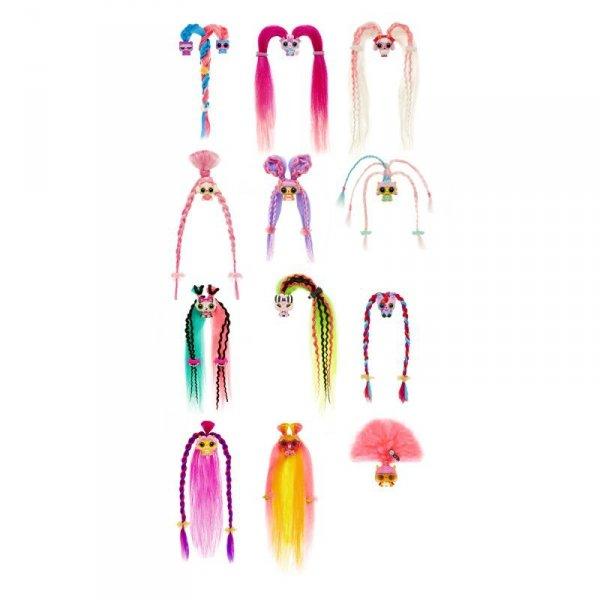 Pop Pop Hair Surprise - Zestaw z laleczką i pupilkiem 3w1 - Yawn - Seria 1