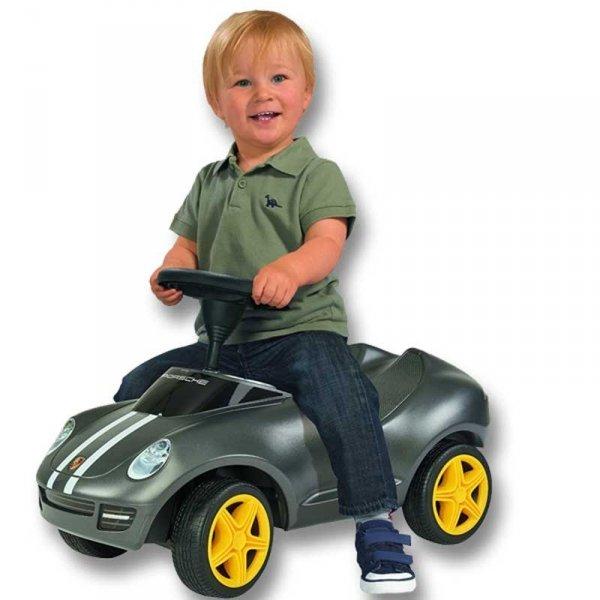 BIG Jeździk Pchacz Bobby Car Porsche Ciche Koła