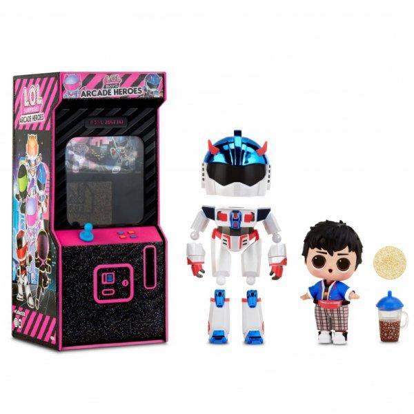 L.O.L Surprise Boys Arcade Heroes Fun Boy lalka w automacie do gier