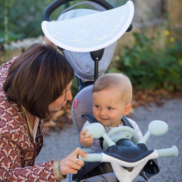 SMOBY Rowerek trójkołowy Baby Driver Komfort plus Niebieski