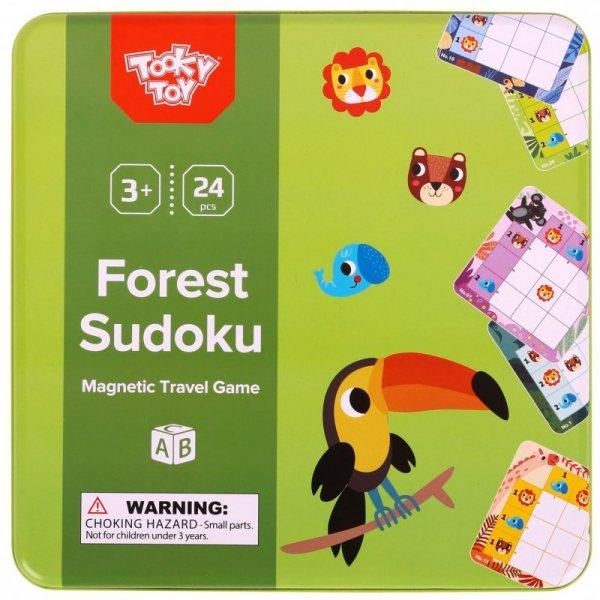 TOOKY TOY Gra Sudoku Dla Dzieci Wersja Las