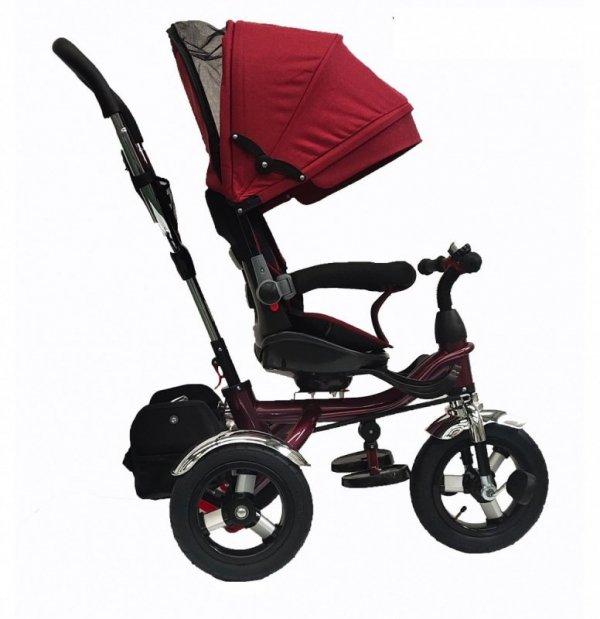 Rowerek trójkołowy BT-12 Czerwona rama-czerwony
