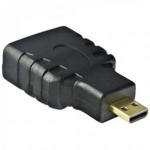 Adapter Akyga AK-AD-10 (HDMI F - Micro HDMI M; kolor czarny)