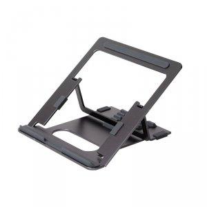 POUT Eyes3 Angle – Aluminiowa podstawka pod laptopa, kolor szary