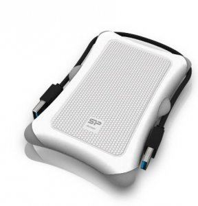 Obudowa HDD/SSD Silicon Power Armor A30 white
