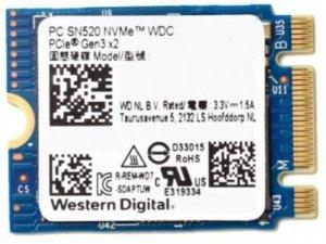 Dysk SSD WD SN520 128GB 2242 128GB PCI-E NVMe