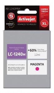 Tusz Activejet AB-1240MNX (zamiennik Brother LC1240M/1220M; Supreme; 12 ml; czerwony)