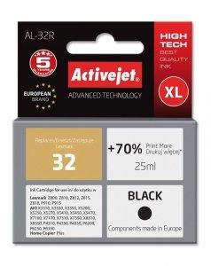 Tusz Activejet AL-32R (zamiennik Lexmark 32 18C0032E; Premium; 25 ml; czarny)