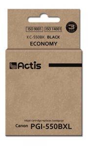Tusz ACTIS KC-550Bk (zamiennik Canon PGI-550BK; Standard; 23 ml; czarny)