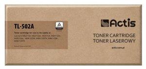 Toner ACTIS TL-502A (zamiennik Lexmark 50F2H00; Standard; 5000 stron; czarny)