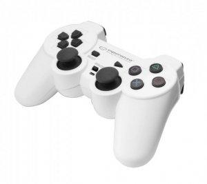 Gamepad Esperanza CORSAIR EGG106W (PC, PS2, PS3; kolor biały)