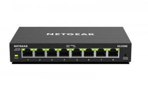 Switch smart NETGEAR GS308E-100PES (8x 10/100/1000Mbps)