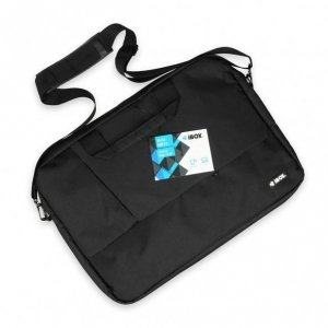 iBox NB13 torba na notebooka 39,6 cm (15.6) Czarny