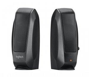 Zestaw głośników Logitech S120 980-000010 (2.0; kolor czarny)