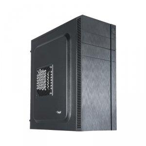 Obudowa Akyga AK34BK (ATX, Flex ATX, Micro ATX, Mini ITX; kolor czarny)