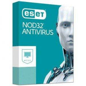 ESET NOD32 ANTIVIRUS (3 stan.; 12 miesięcy; BOX; Przedłużenie)