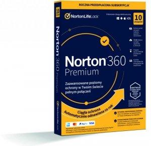 Norton 360 Premium 10D/12M BOX - WYMAGA KARTY