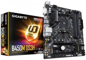 Płyta główna Gigabyte GA-B450M DS3H (AM4; 4x DDR4 DIMM; Micro ATX; CrossFire)