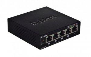Switch D-Link DES-1005P/E (5x 10/100Mbps)