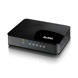 Switch ZyXEL GS-105SV2-EU0101F (5x 10/100/1000Mbps)