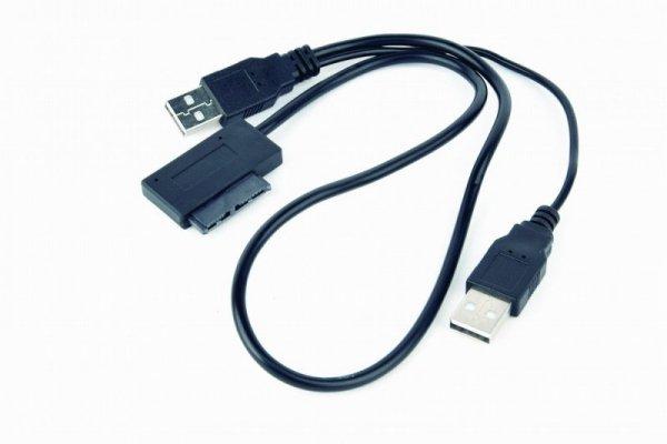 Gembird A-USATA-01 cable gender changer USB SATA 13-pin Czarny