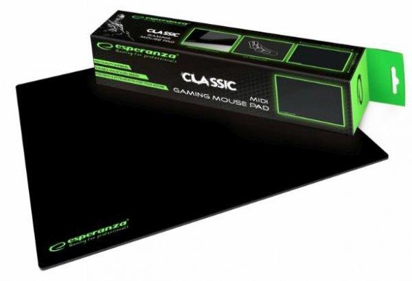 Podkładka gamingowa pod mysz Esperanza CLASSIC EGP102K (300mm x 240mm)
