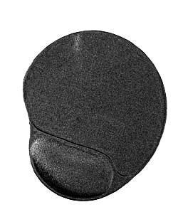 Gembird MP-GEL-BLACK podkładka pod mysz Czarny