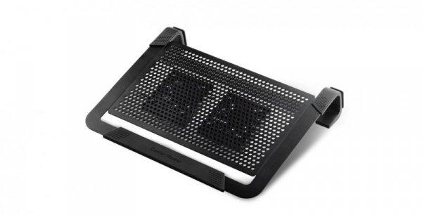 """Cooler Master NotePal U2 Plus podkładka chłodząca do notebooków 43,2 cm (17"""") Czarny"""