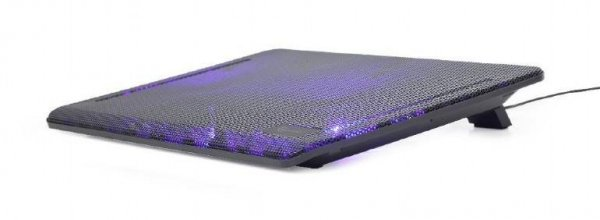 Podstawka chłodząca pod notebook GEMBIRD NBS-2F15-01 (15.x cala; 2 wentylatory)