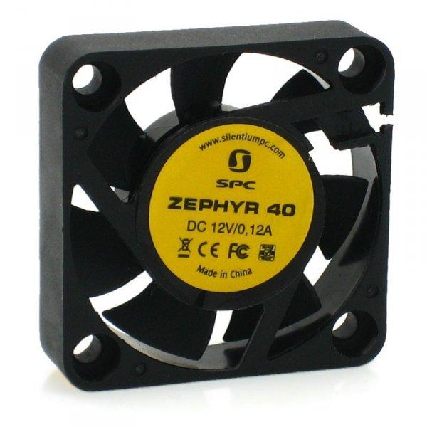 SilentiumPC Zephyr 40 Obudowa komputera Wentylator