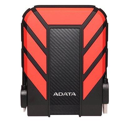"""Dysk zewnętrzny HDD ADATA HD710 AHD710P-1TU31-CRD (1 TB; 2.5""""; USB 3.1; 8 MB; kolor czerwony)"""