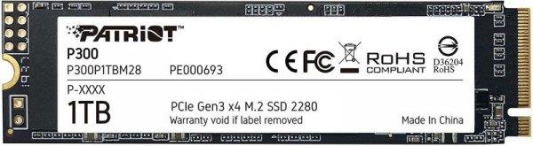 PATRIOT VIPER P300 M.2 PCI-EX4 NVME 1TB