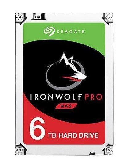 """Seagate IronWolf Pro ST6000NE000 dysk twardy 3.5"""" 6000 GB Serial ATA III"""