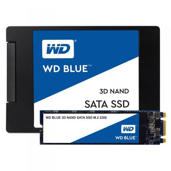 """Dysk SSD WD Blue WDS250G2B0A (250 GB ; 2.5""""; SATA III)"""