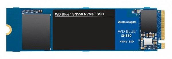 Dysk SSD WD Blue SN550 WDS100T2B0C (1 TB ; M.2; PCIe NVMe 3.0)