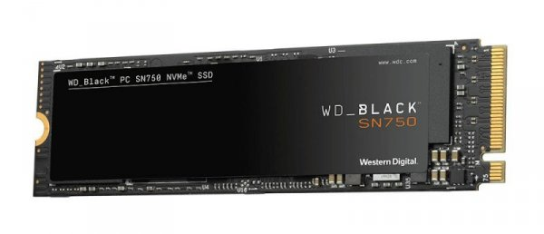 Western Digital SN750 M.2 500 GB PCI Express 3.0  NVMe